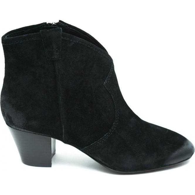 2bcb44e24ae Buy Ash Footwear Spiral Calf Suede Black   Ash Footwear @ Fussy Nation