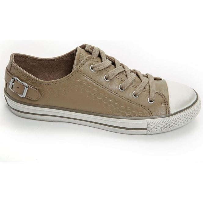 Ash Footwear Virgo Trainer, Taupe