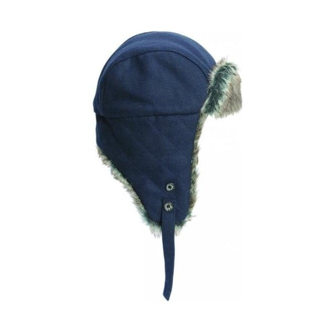 Barbour Grasmere Hunter Hat, Navy