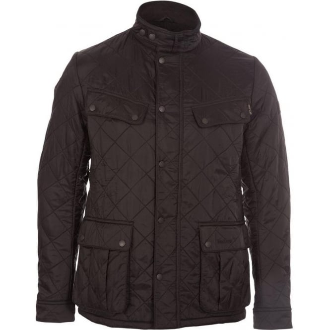 amazing selection great deals on fashion shop for newest Barbour International Range Ariel Polarquilt Jacket (Black)
