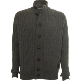 Kirkham Cable Button Through Cardigan