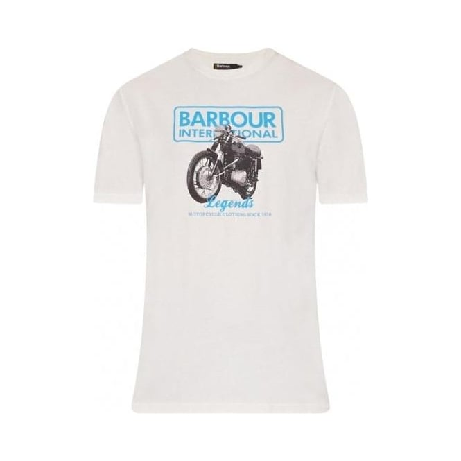 Barbour Legend Tee, Neutral