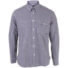 Mens Barbour Adler Gingham Long Sleeve Shirt