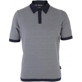 Mens Barbour Aycliffe Knitted Polo
