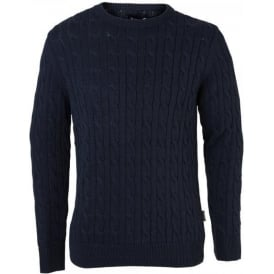 Mens Barbour Bretby Crew Neck Sweater