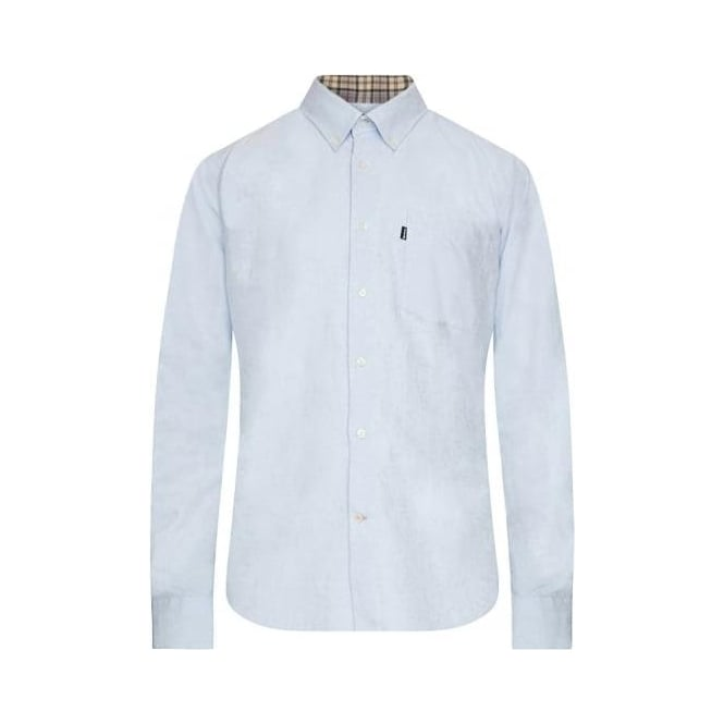 Barbour Oxford Shirt, Sky Blue