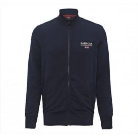 Pride Zip Thru Cardigan, Dark Navy