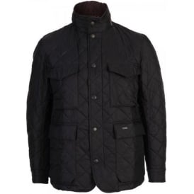 Quilted Grayson Jacket, Navy