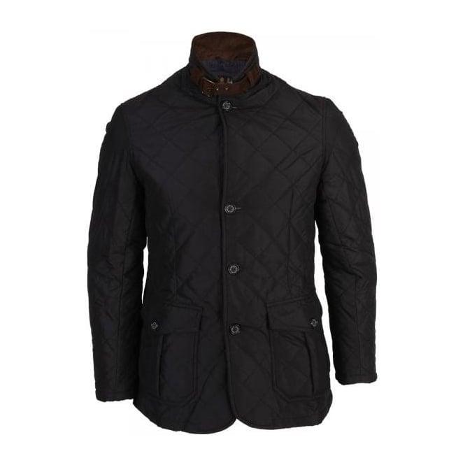 Buy Barbour Quilted Lutz Jacket, Navy | Barbour @ Fussy Nation : barbour quilted lutz jacket - Adamdwight.com