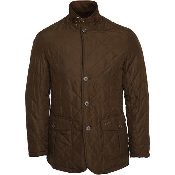 Barbour Quilted Lutz Jacket, Olive