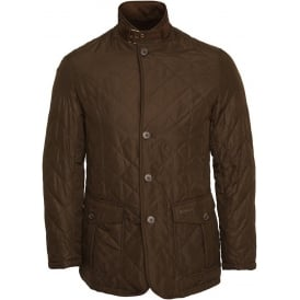 Quilted Lutz Jacket, Olive