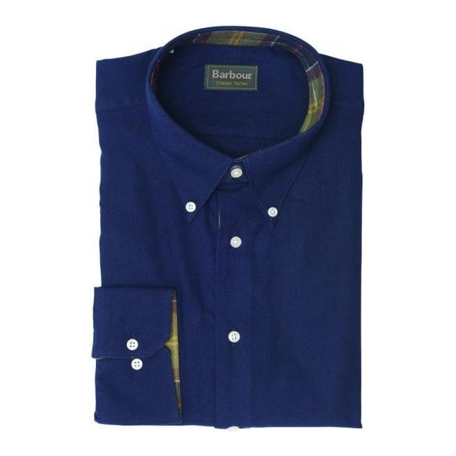 Barbour Shiel Shirt, Dark Navy