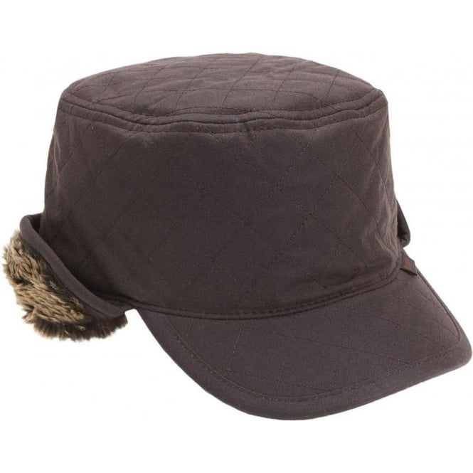 Barbour Stanhope Trapper Hat, Olive