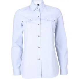 Blazey Shirt, Light Blue