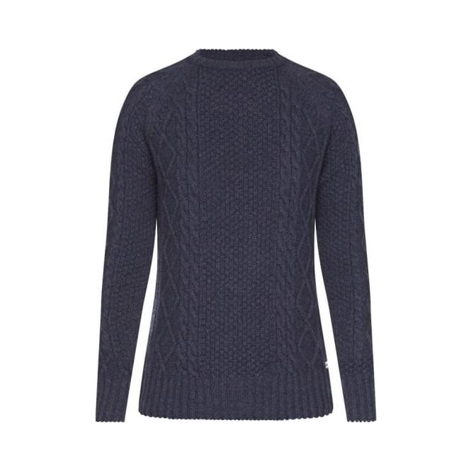 Barbour Womens Verity Cable Knit Sweater