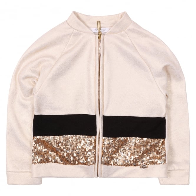 Byblos Kids Giubbotto Baby Jacket - Sequinned