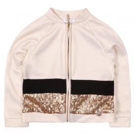 Giubbotto Baby Jacket - Sequinned