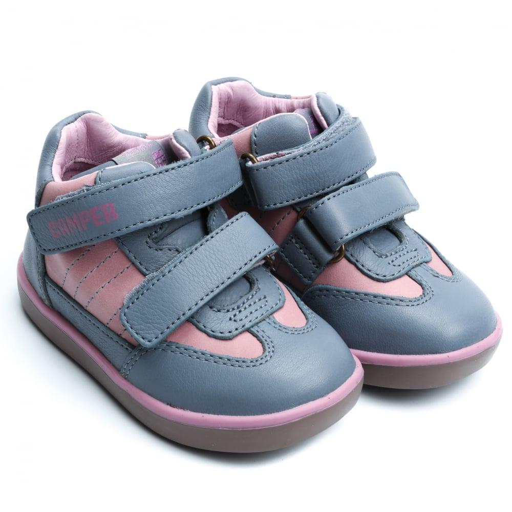 Camper Kids Pursuit Sneaker 21 Grey/Blue l8SWvT7