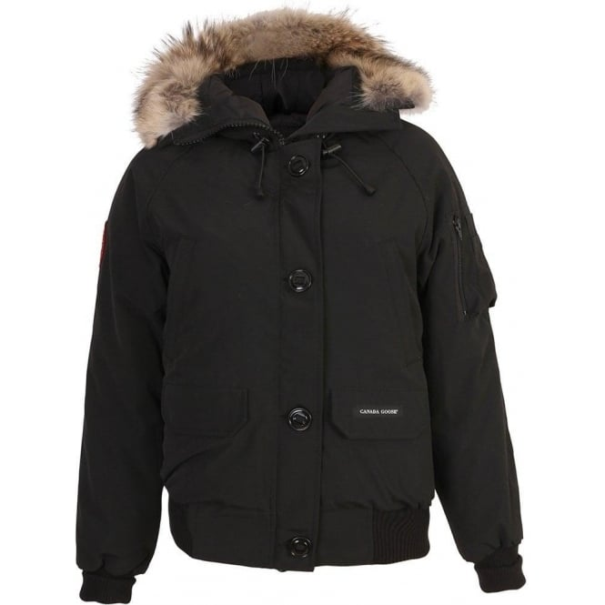 cheap for sale great look available Canada Goose Ladies Chilliwack Bomber. Black