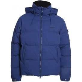 Down Filled Alaska Jacket (Cobalt)