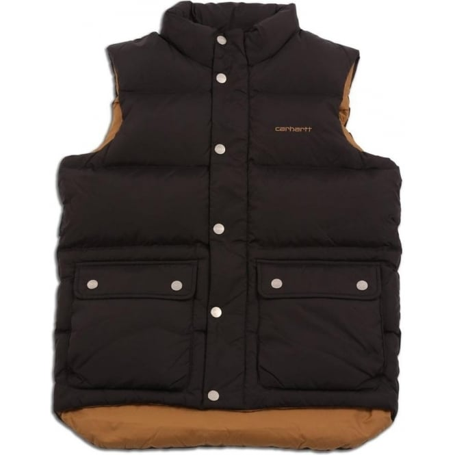 Carhartt Down Filled Raleigh Vest (Black)