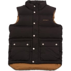 Down Filled Raleigh Vest (Black)