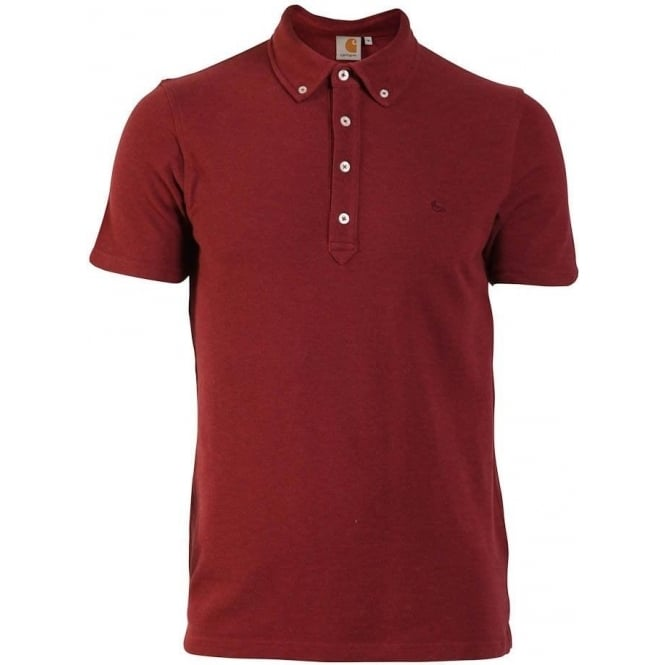 ae13dd32 Buy Carhartt Cult Polo Varnish Heather | Carhartt | Carhartt @ Fussy ...