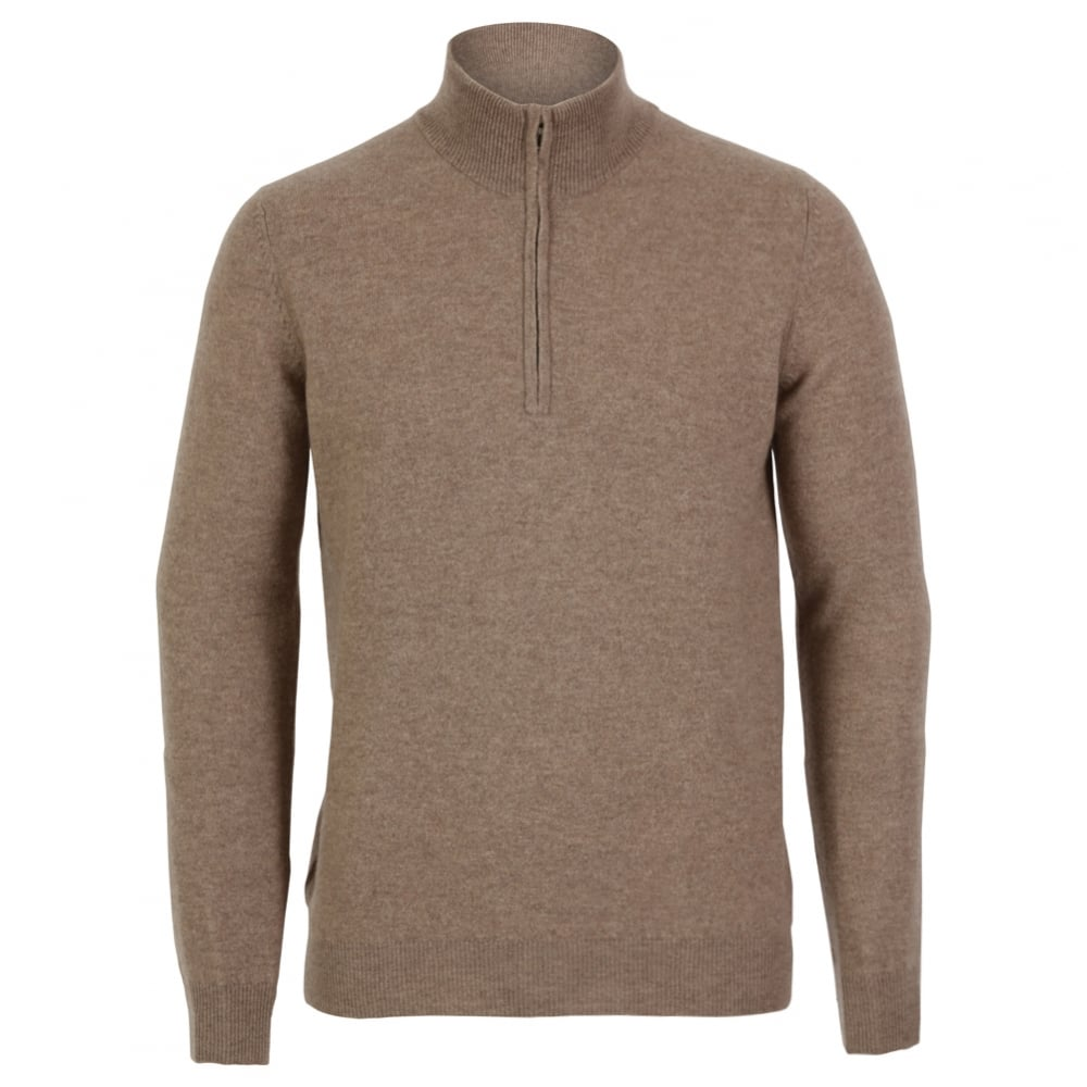Buy Cashmere Mens Half Zip Sweater Fussynationcom