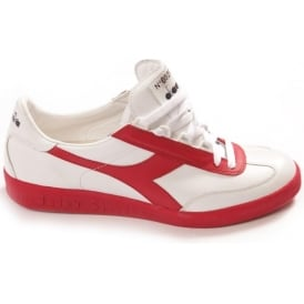 Borg Originals 1976 Heritage Collection Tennis Shoes (Red White)