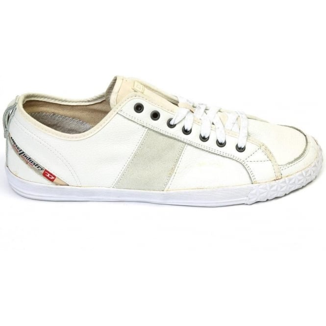 Diesel Fancylace Trainer, White