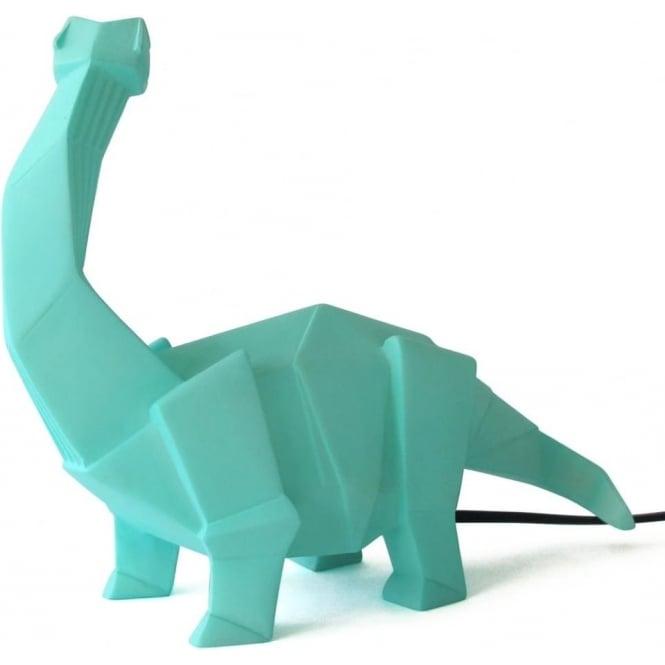 Diplodocus Dinosaur Lamp, Green