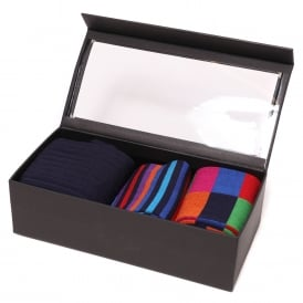 Duchamp Navy Socks Set