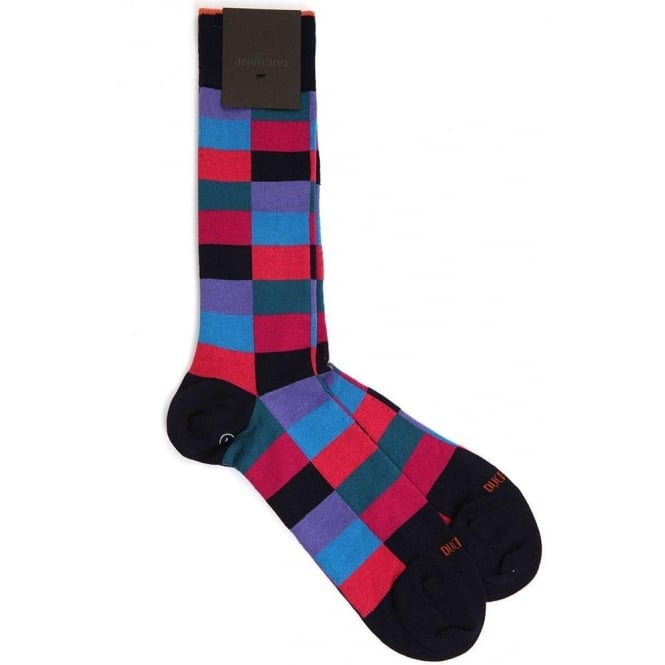 Duchamp of London Harlequin Sock - 521 Crunch