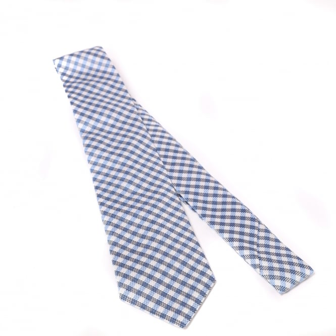 Duchamp of London Layered Plaid Check Tie