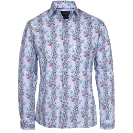 Poppy Delight Print Shirt, Colour 123
