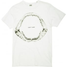Can't Surf Tee, White