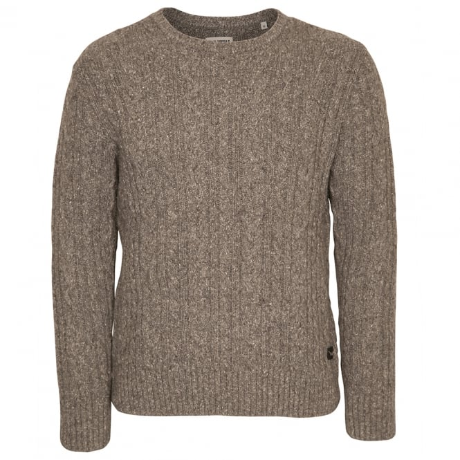 Edwin Denim Crew Neck Oiler Sweater