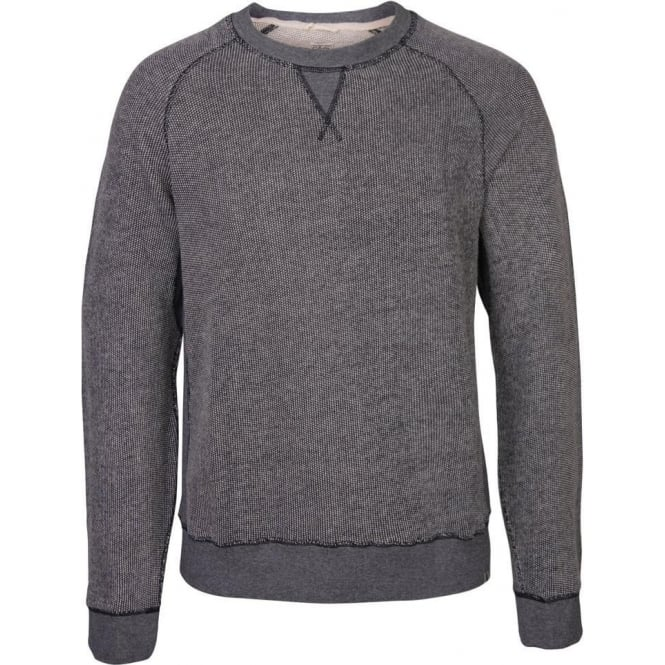 Edwin Denim EC Sweat Top, Navy