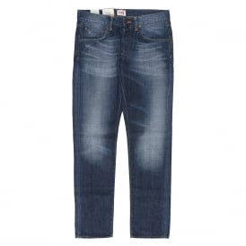 ED-55 Relaxed Quartz Cotton Jeans Heavy O Wash