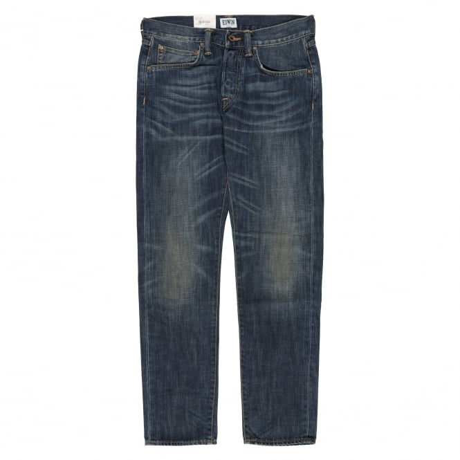 Edwin Denim ED-55 Relaxed Tapered - Blue Rise Used