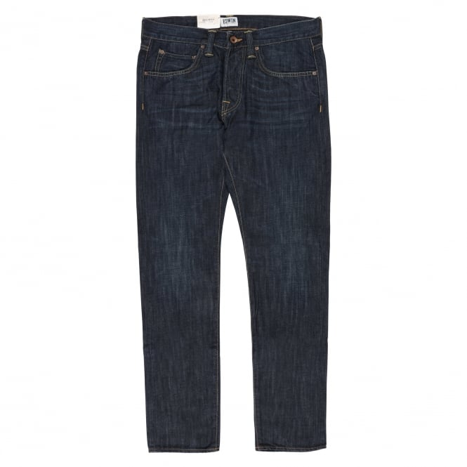 Edwin Denim ED-55 Relaxed Tapered - Burner Wash