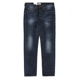 ED-55 Relaxed Tapered Jeans - Blue Dawn Used