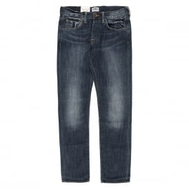 ED-55 Relaxed Tapered Jeans - Blurred Wash