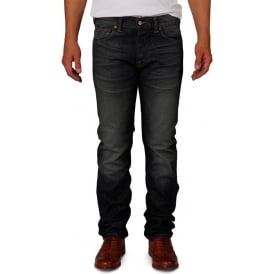 ED-71 Slim Fit Japanese Denim Jean, 11.25 Oz, Biker Wash