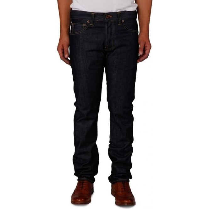 Edwin Denim ED-71 Slim Fit Japanese Denim Jean, 11.25 Oz, Blue Unwashed