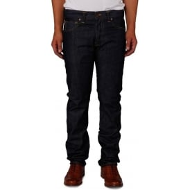 ED-71 Slim Fit Japanese Denim Jean, 11.25 Oz, Blue Unwashed