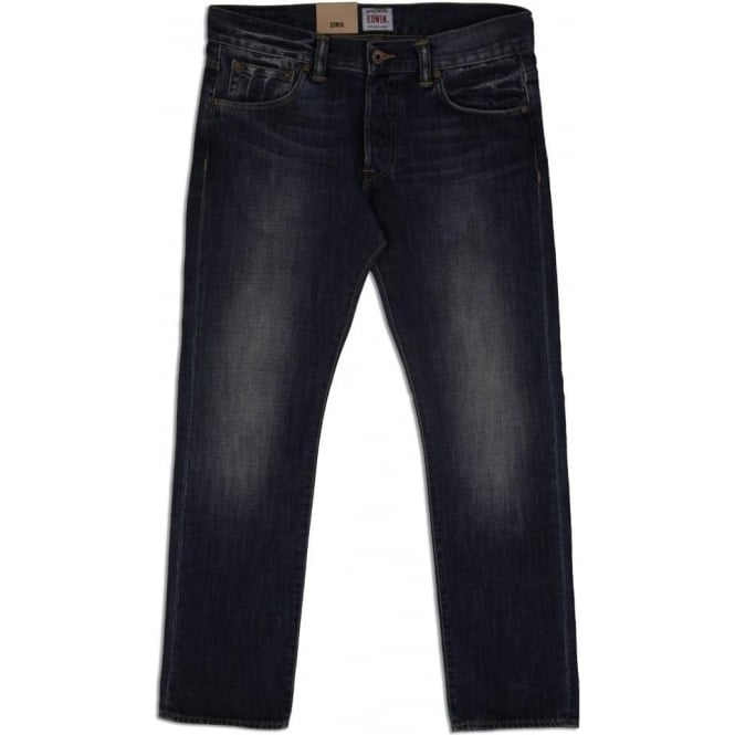 uk availability 4e1cc c7683 Edwin Denim ED-71 Slim Fit Japanese Denim Jean, 12 Oz, Blue Blurred Wash