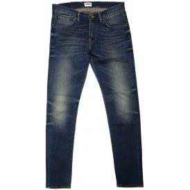 ED-85 Slim-Fit Low Crotch Compact Blue 12.5Oz Denim Jean
