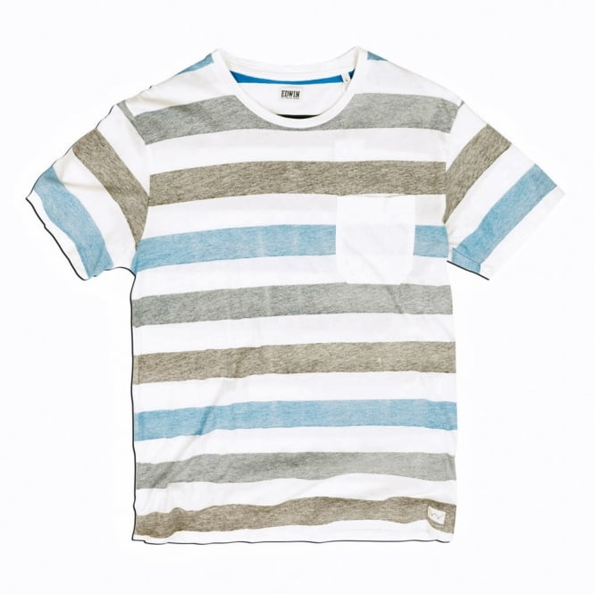 Edwin Denim Marvin Striped T-Shirt