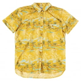 Mustard Hawaiian Shirt